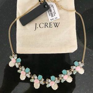 JCrew Brand NWT Faux Gemstone 💎 Cluster Necklace